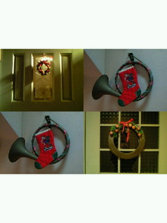 今年のクリスマス飾り