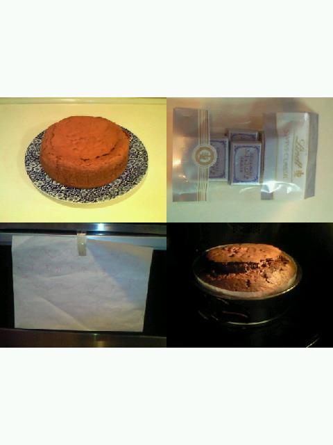 久々のチョコレートケーキ作り