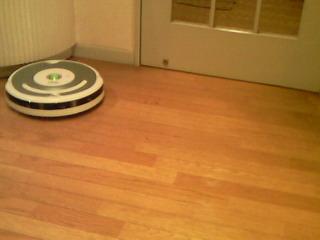 自動掃除機  Roomba<br />  ちゃん