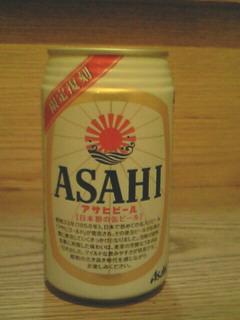 日本初の缶ビールの限定復刻版(アサヒビール)