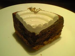 ANAホテルのチョコレートケーキ