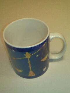 天秤座のマグカップ