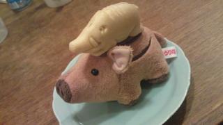 猪最中(伊豆のお土産)