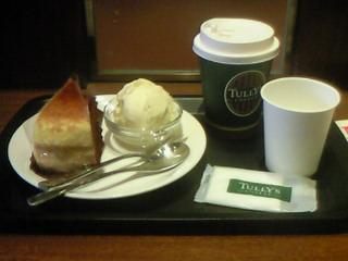 タリーズコーヒーのミルクレープ