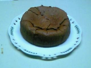 チョコレートケーキ再び