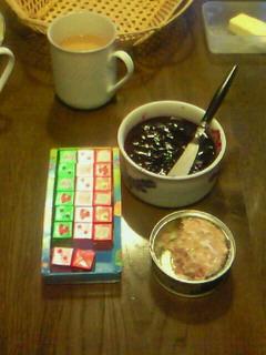 軽井沢での朝ごはん