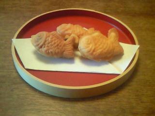 鯛焼き三種