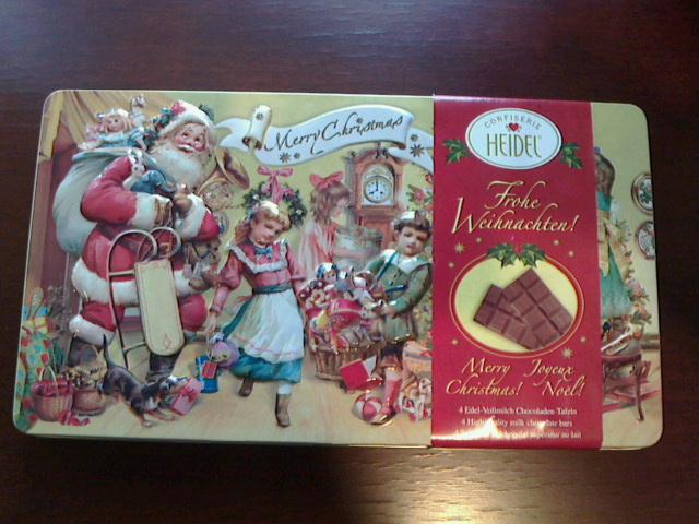サンタさんはウィンナホルンがお好き!