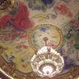 06 オペラ座天井とシャンデリア